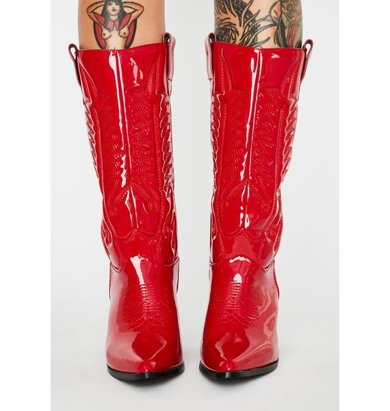 Hot Western Beauty Cowboy Boots