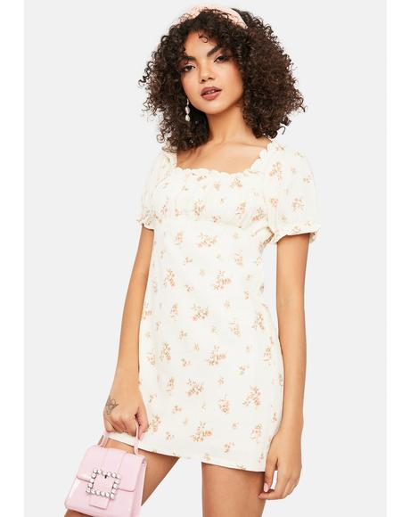 Too Good For You Floral Dress