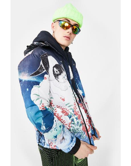 Snow Bird Puffer Jacket