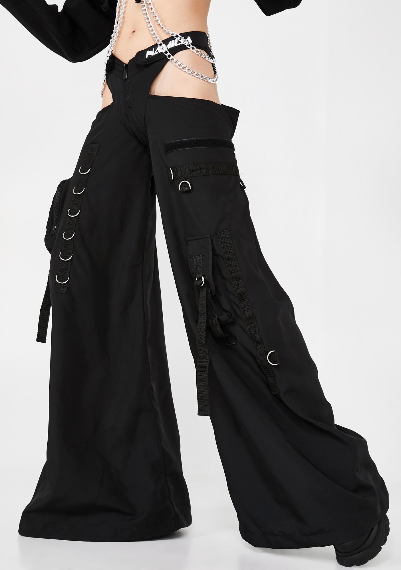 Namilia Black Rave Panty Trousers