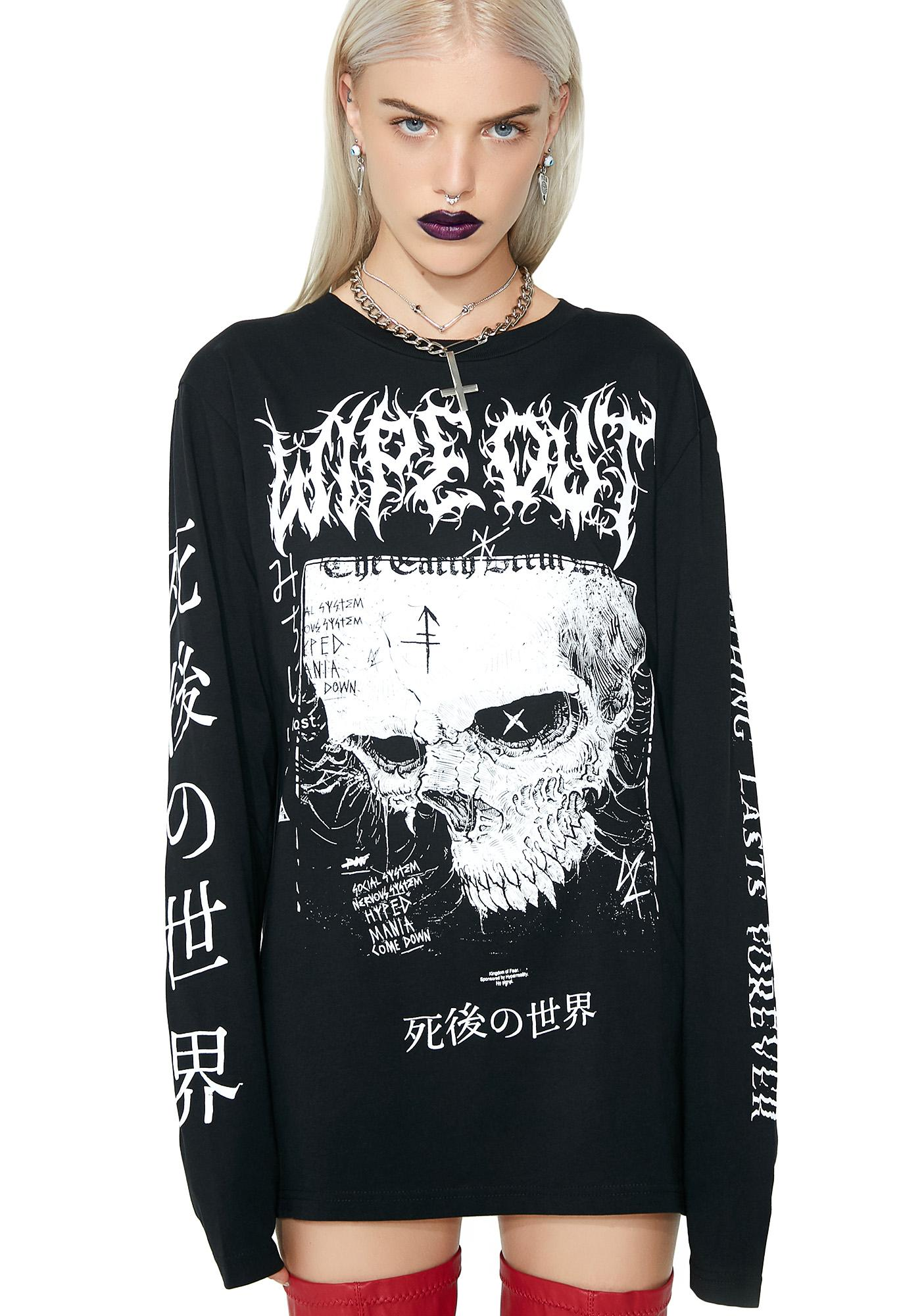 Disturbia Wipe Out Long Sleeve