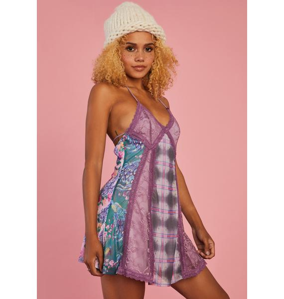 Sugar Thrillz Sew It Begins Patchwork Dress
