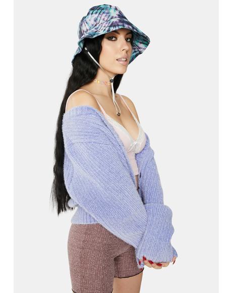 Royal Trippy Love Tie Dye Bucket Hat