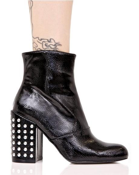 Galley Studded Ankle Booties