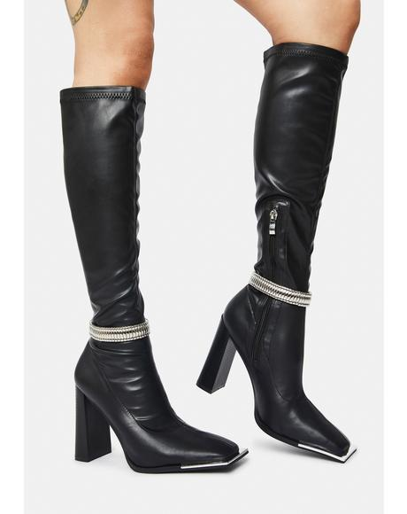 Manic Knee High Boots