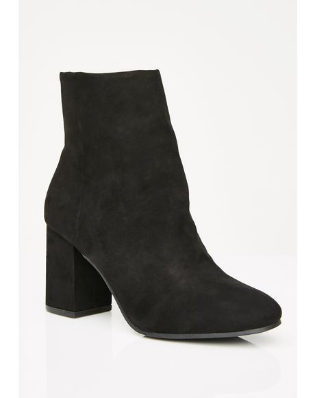 Pretty Bish Ankle Boots