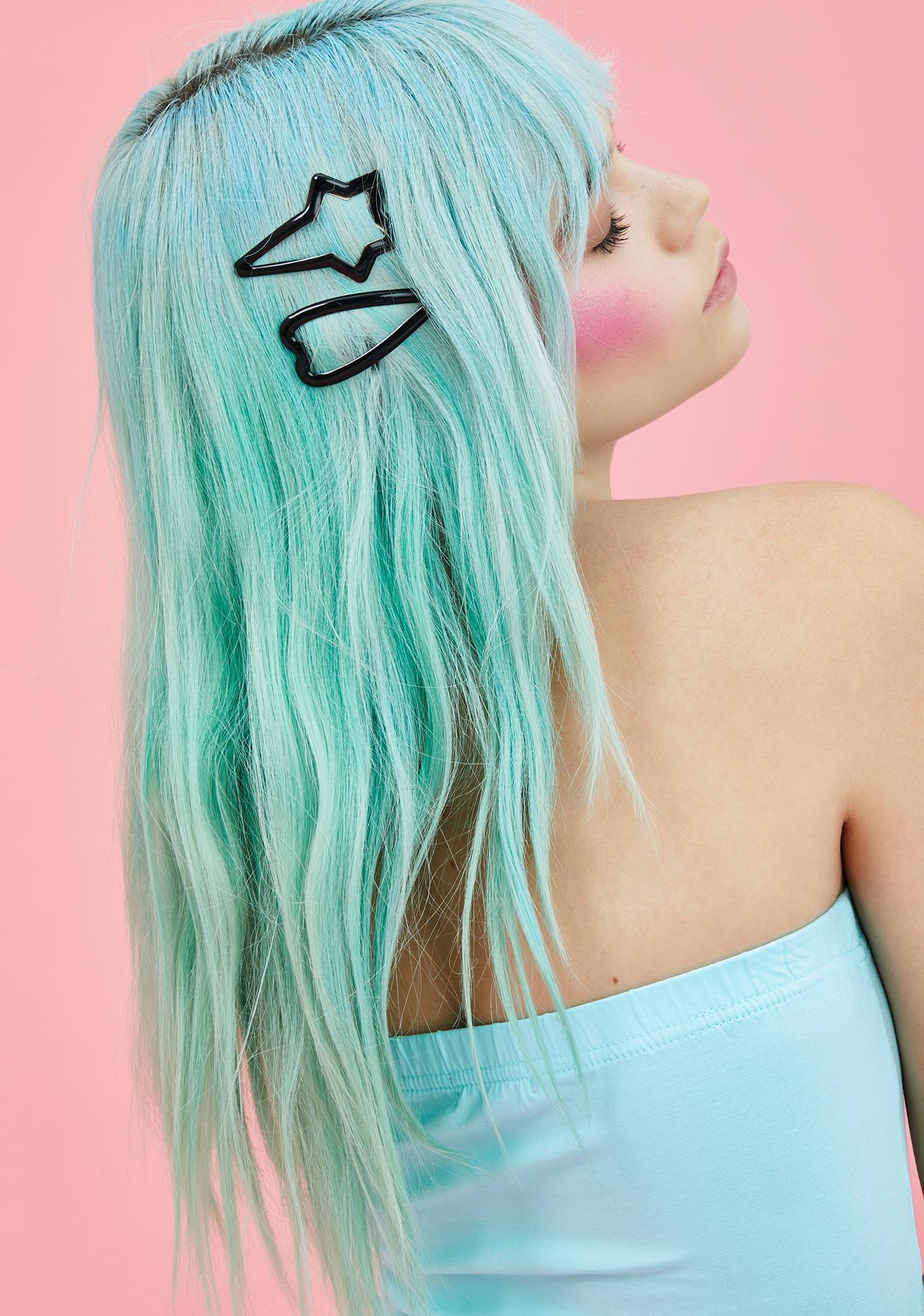 Star Lover Hair Clip Set