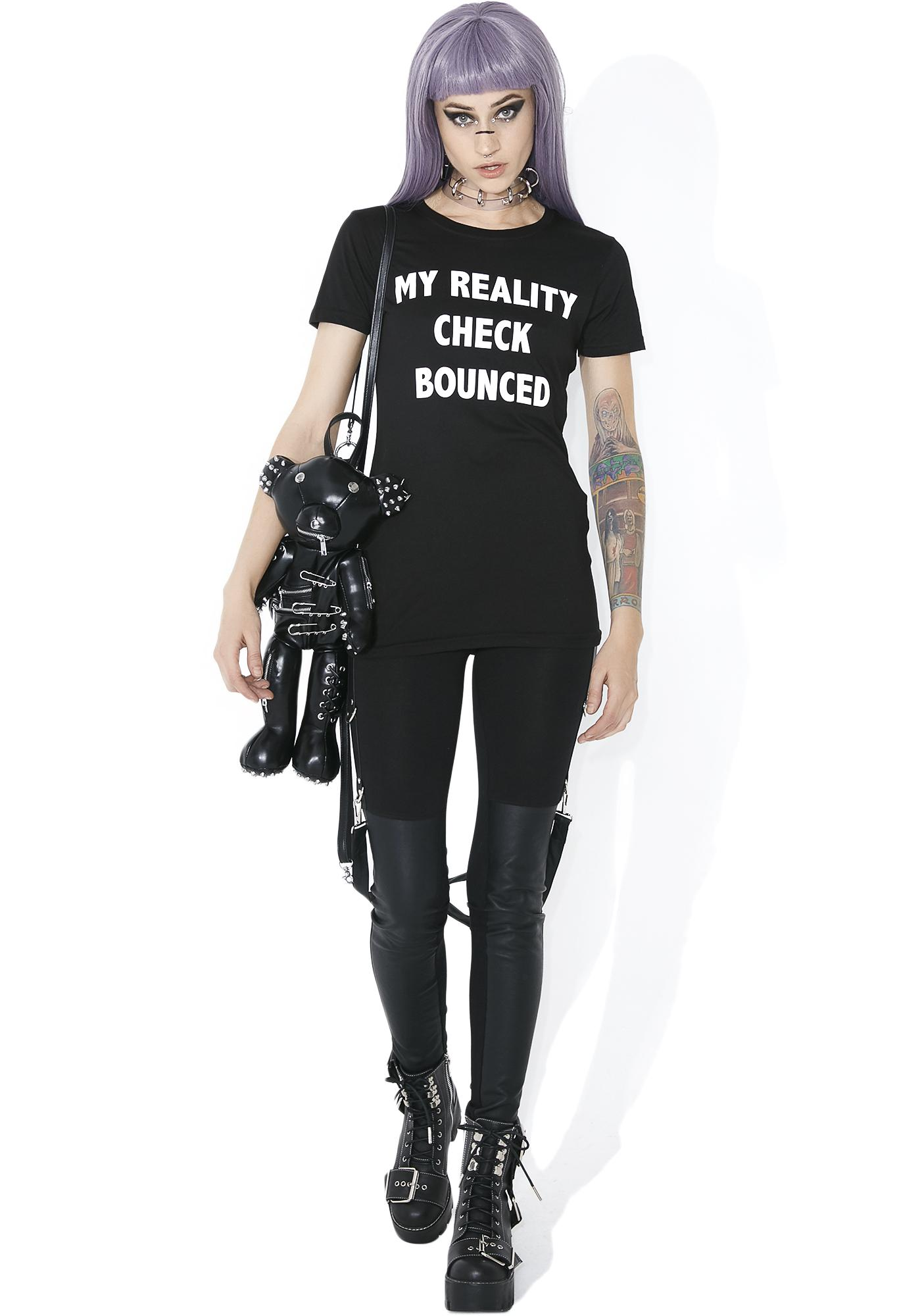 Current Mood Check Bounced Tee