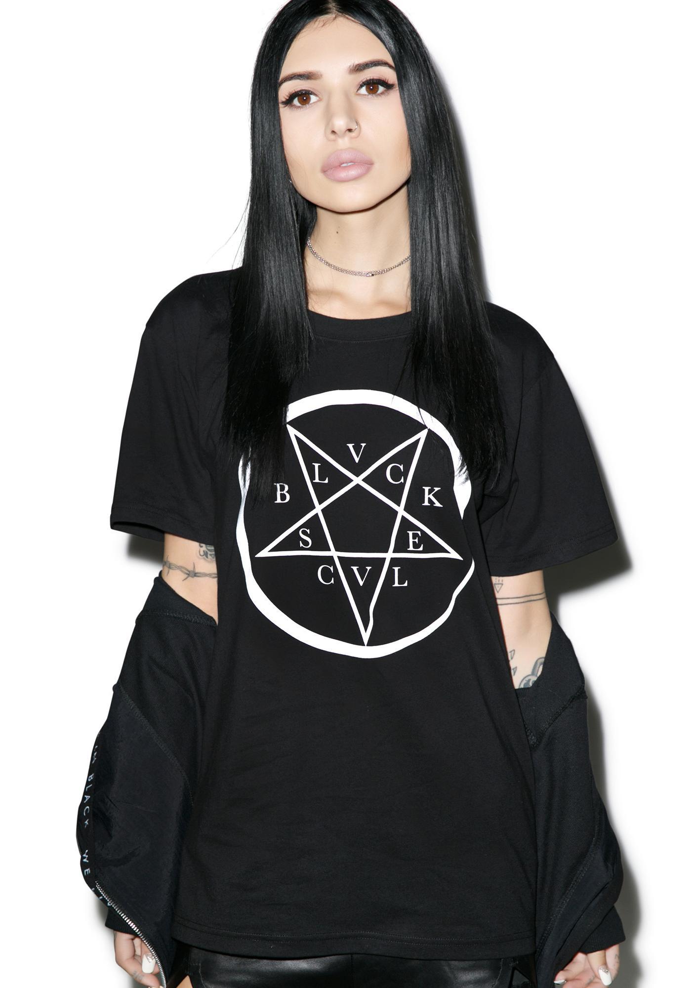 Black Scale Serpenta T-Shirt