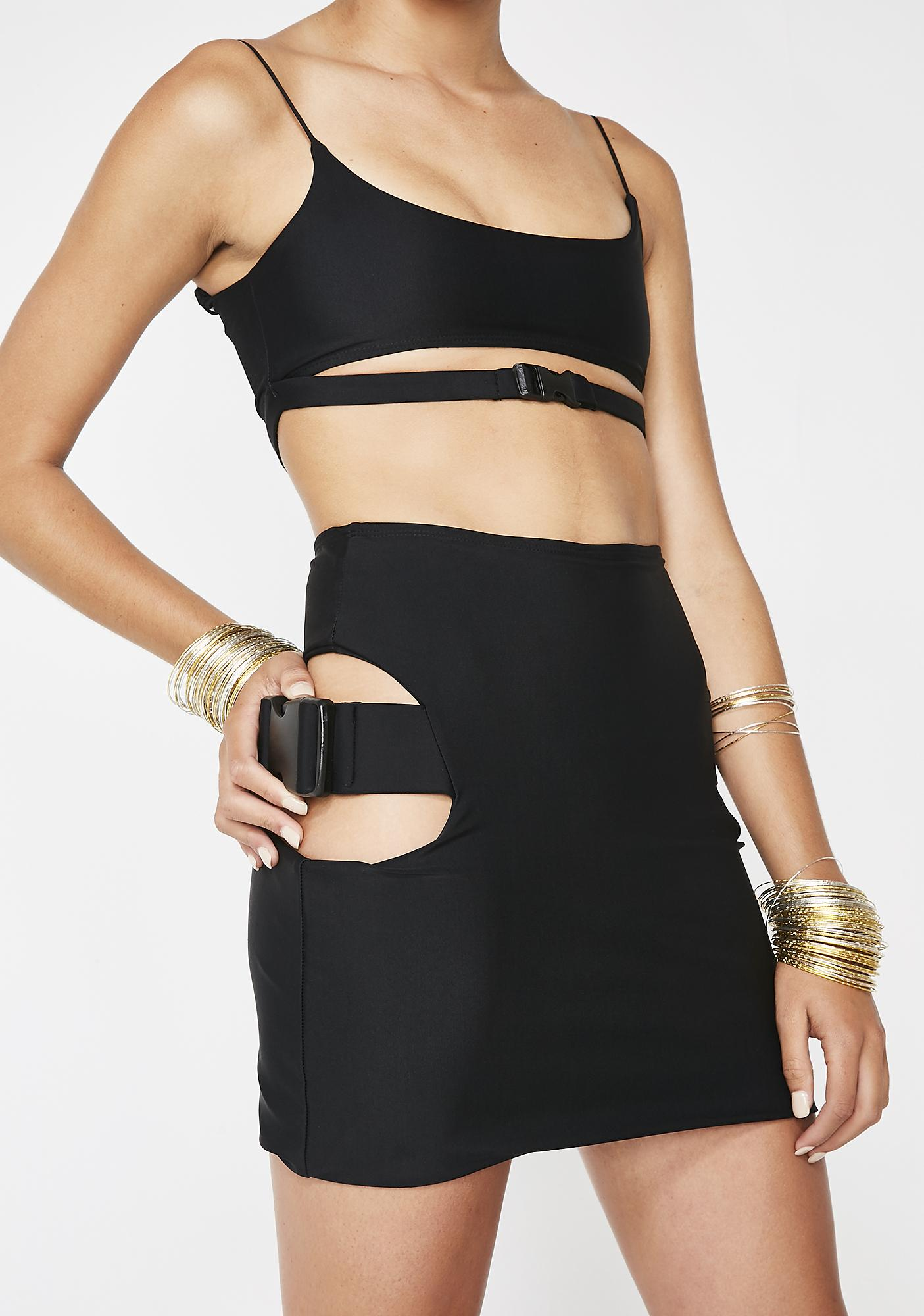 Lipt The Label Buckle Cami Top