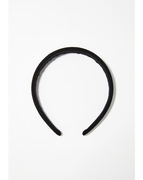 Simple Life Velvet Headband