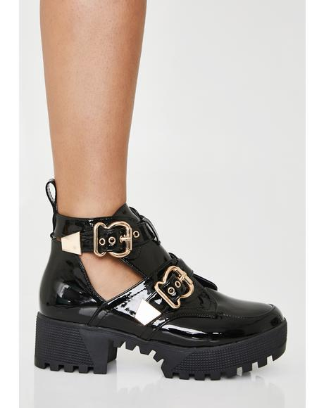 Found Guilty Platform Sandals