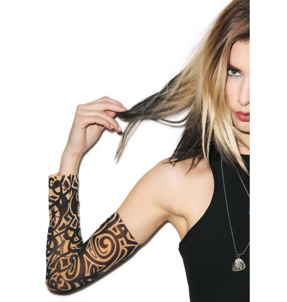 Goin' Tribal Tattoo Sleeves
