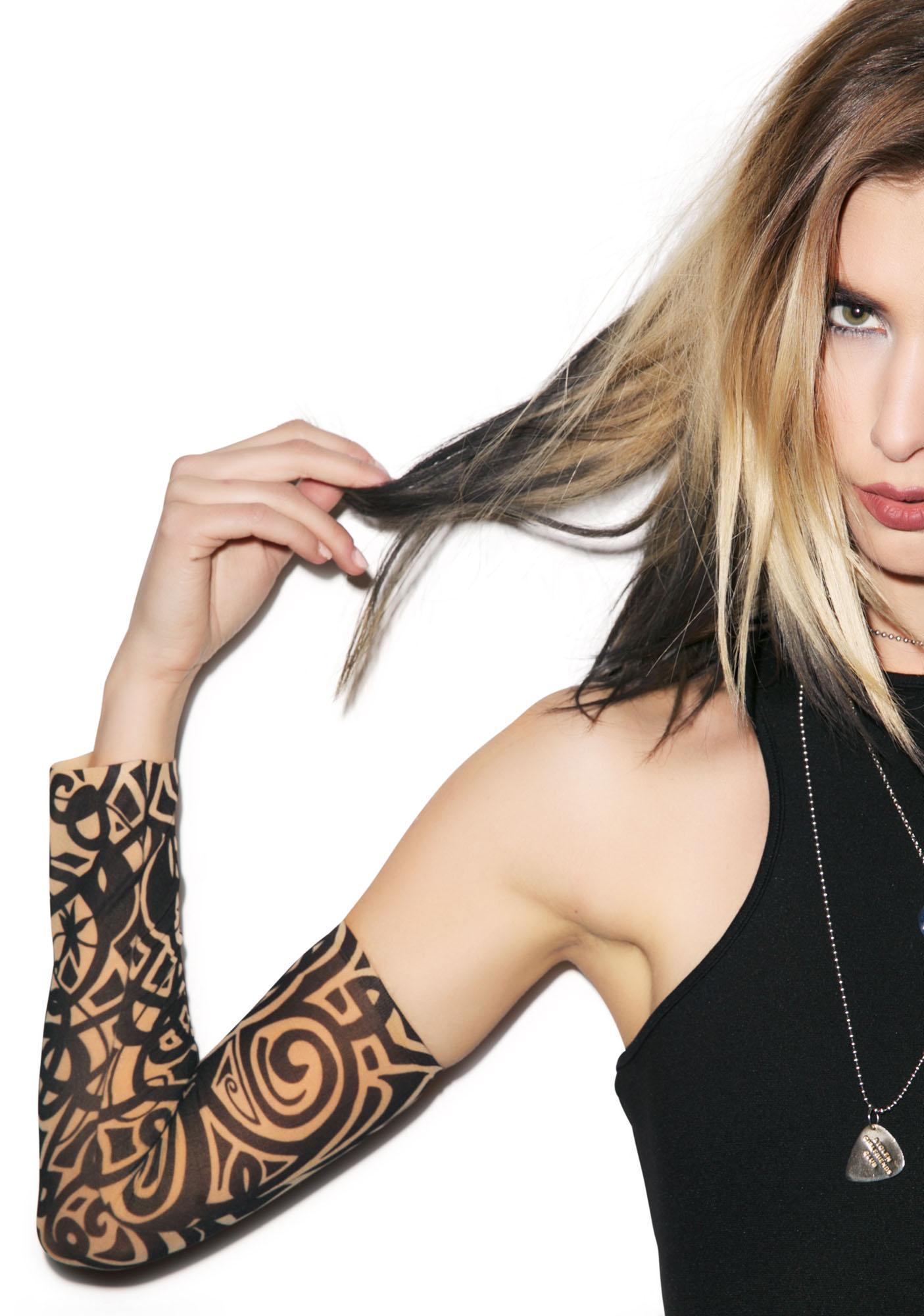 Goin' Tribal Tattoo Sleeves