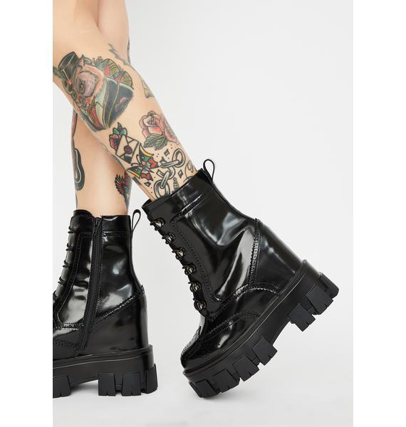 Toughest Chick Platform Boots