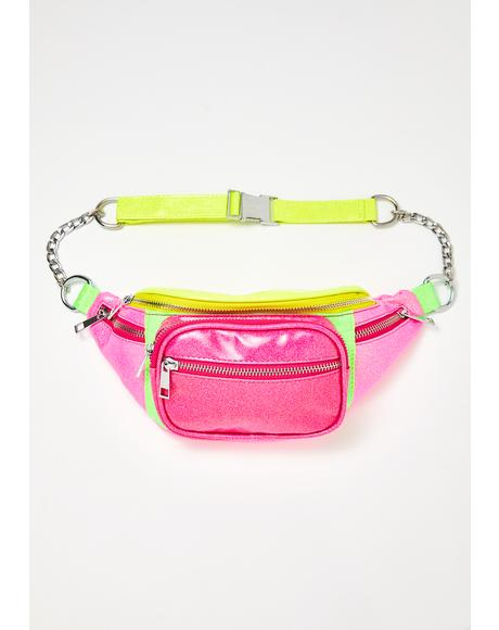 Mind Melt Colorblock Fanny Pack