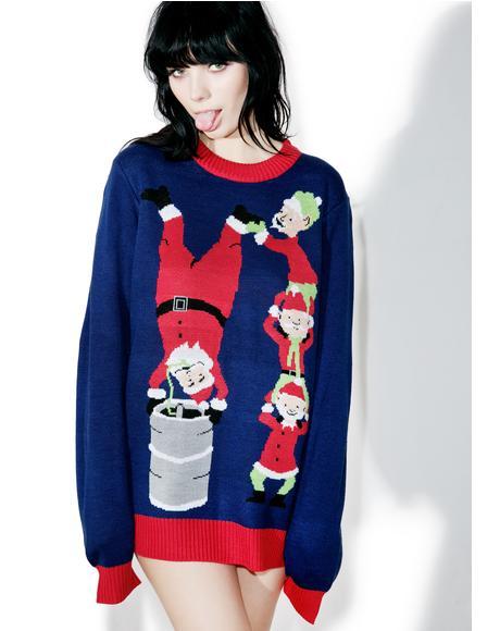 Keg Stand Sweater