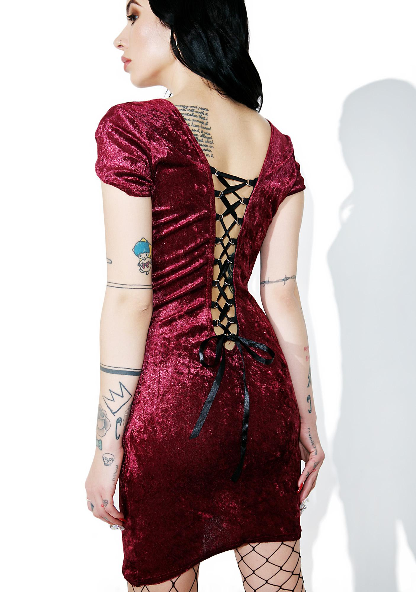 Black Heart Corset Dress