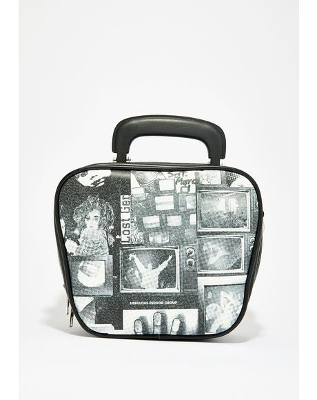 TV Static Bowler Bag