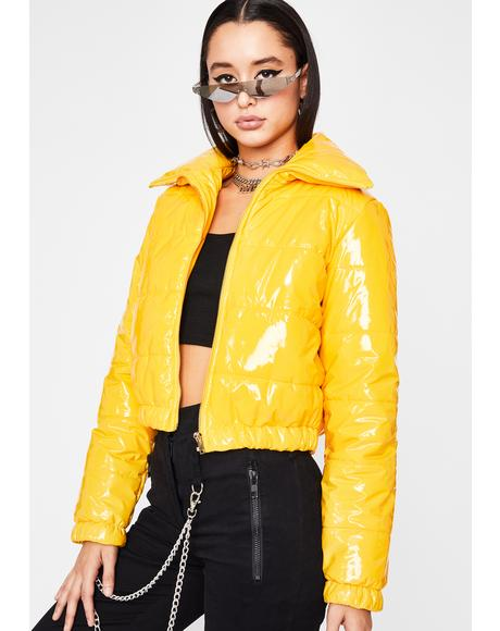 Honey What's Really Good Puffer Jacket