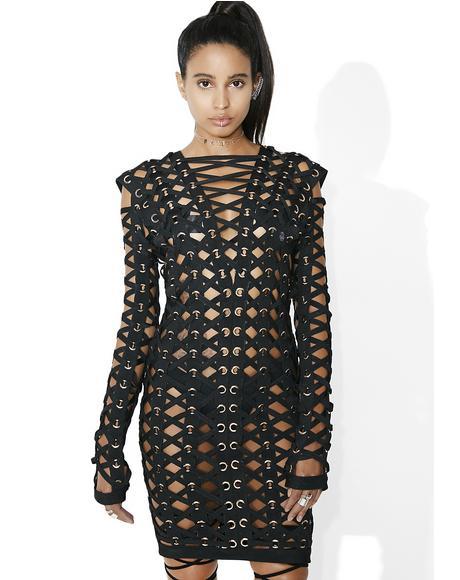 Valkyrie Caged Bodycon Dress