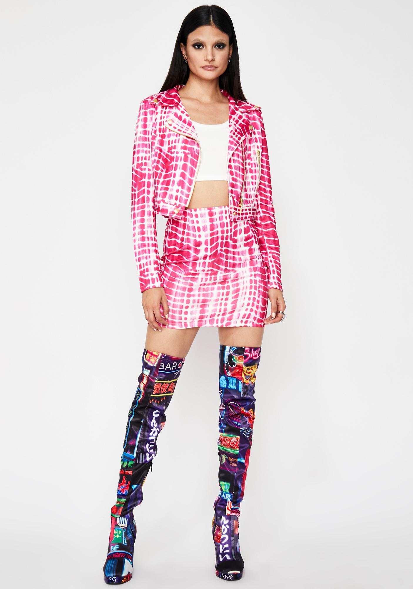 Miss Rich Grl Mini Skirt