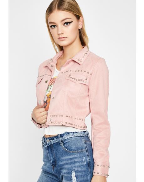 Sweet Maple Studded Jacket