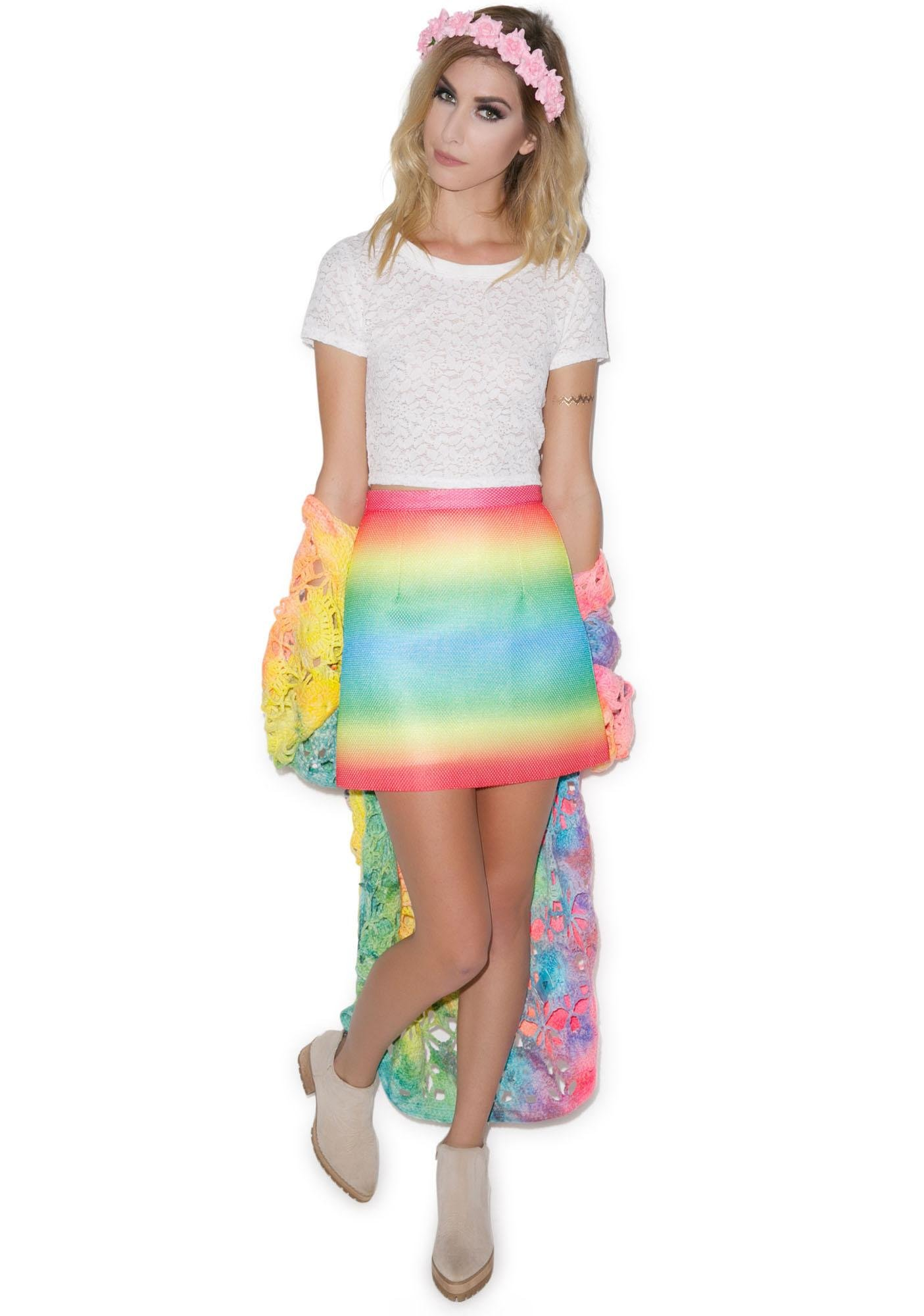Reading Rainbows Skirt