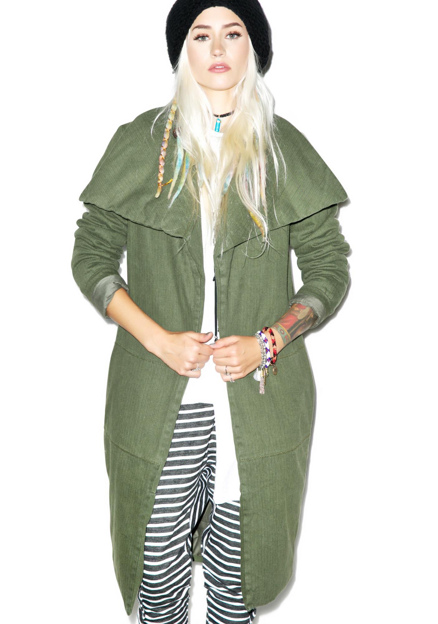 One Teaspoon Chapman Sailor Coat
