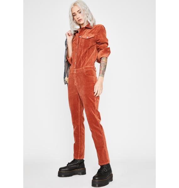 Corduroy Game Changer Jumpsuit