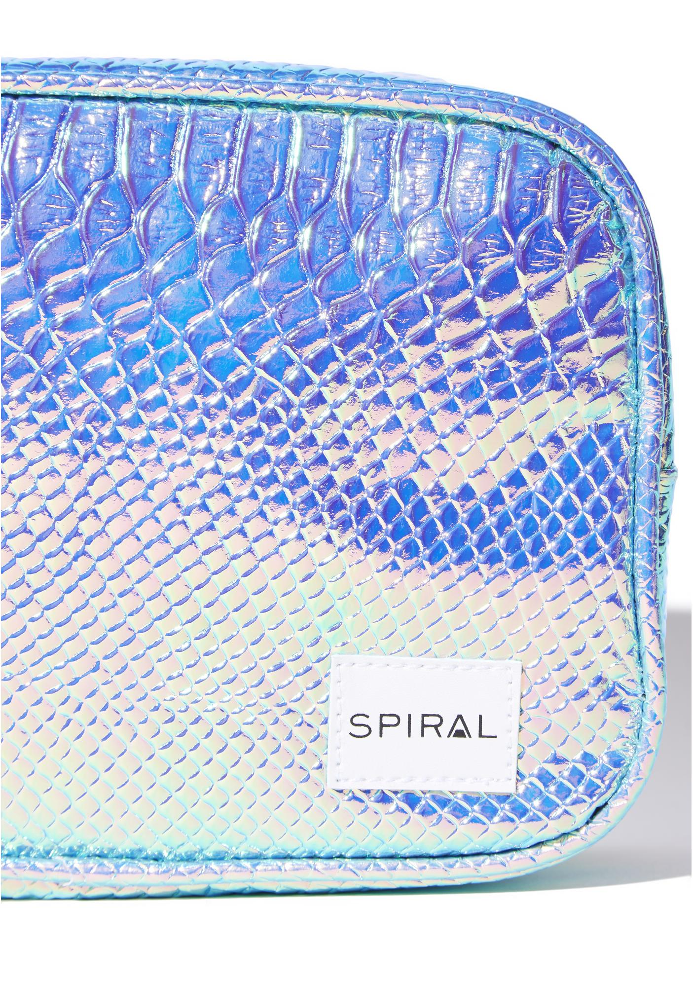 Spiral UK Holographic Portland Cosmetic Bag