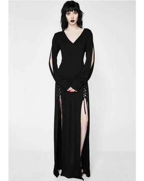 Libra Rising Maxi Dress