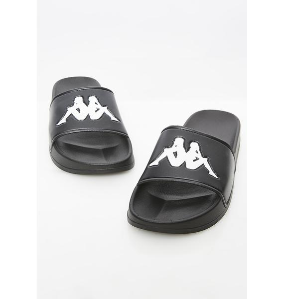 Kappa Dark Authentic Adam 2 Slides