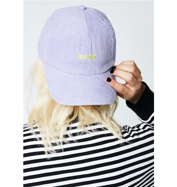 Insight Dad Cord Cap