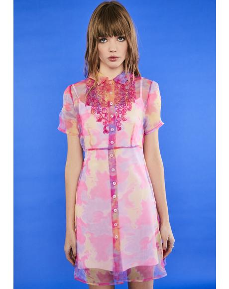 Candy Crushin' Shirt Dress