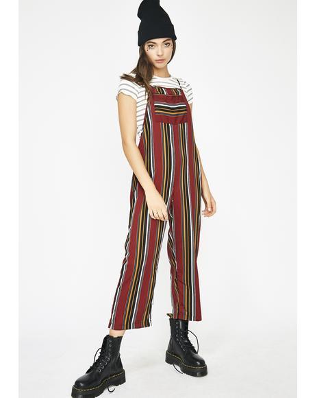 Street Cred Stripe Jumpsuit