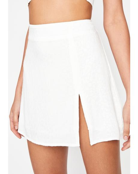 Angel Kitty Trixx Mini Skirt