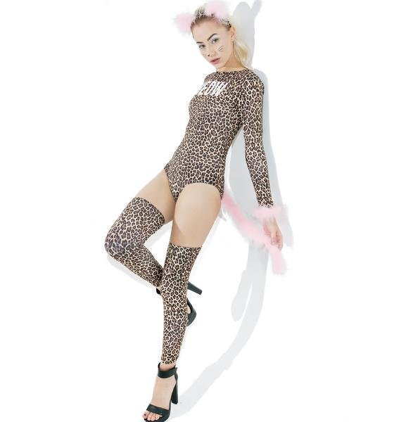 Dolls Kill Leopard Meowmix Kitten Set