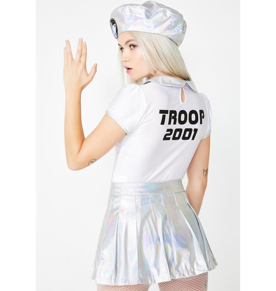 Dolls Kill Space Cadet Costume Set