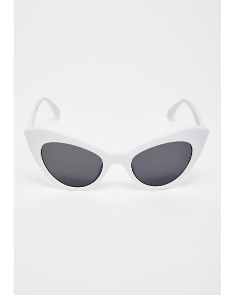 Prowling Around Cat-Eye Sunglasses
