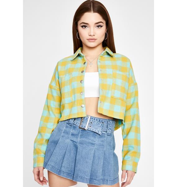 Say What Ya Want Plaid Jacket