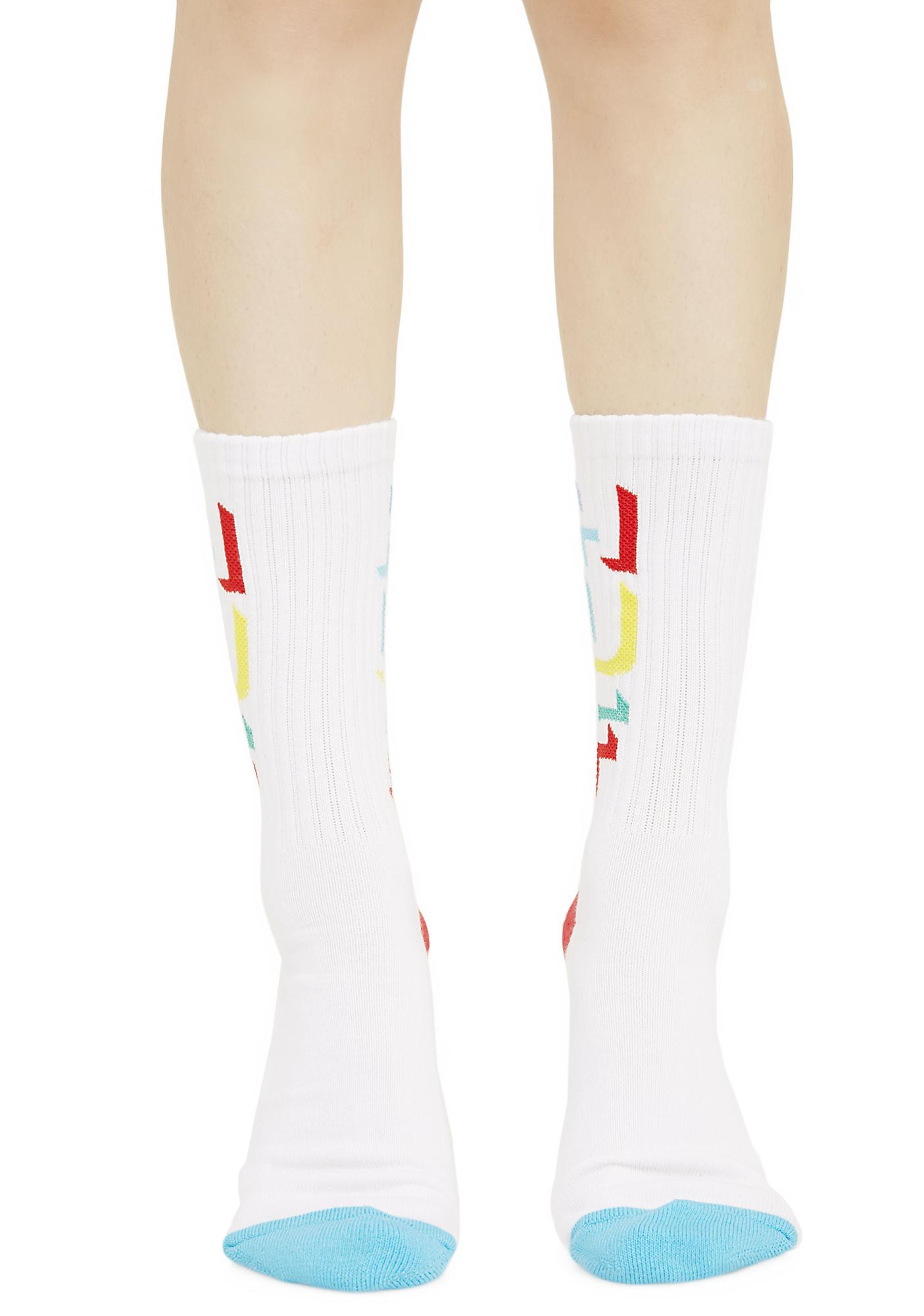 HUF Outline HUF Crew Socks
