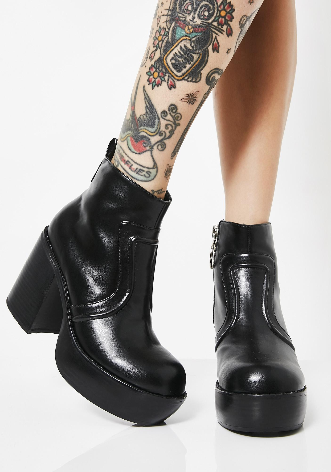 New Coven Platform Boots by Current Mood