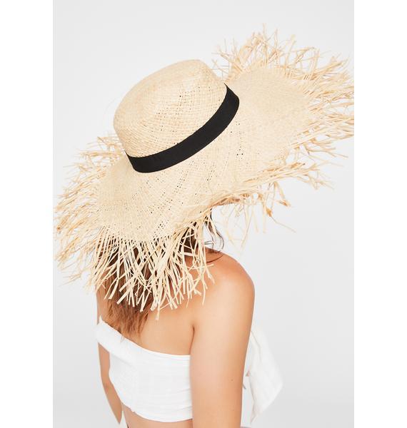 Bonfire Heaux Straw Hat