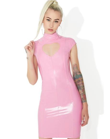 Heartbeatz Cut-Out Bodycon Dress