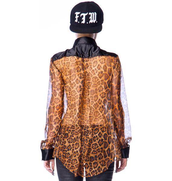 UNIF Feline Shirt