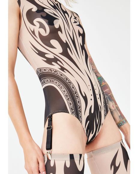 Sharpshooter Mesh Bodysuit
