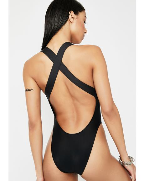 Heat Crosser One Piece Swimsuit