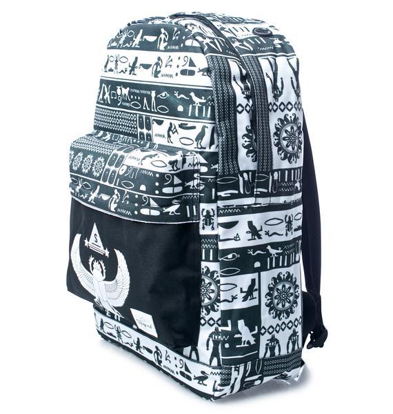 Spiral UK Script OG Backpack