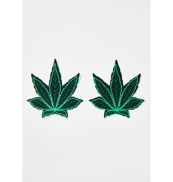 Pastease Ganja Green Leaf Pasties
